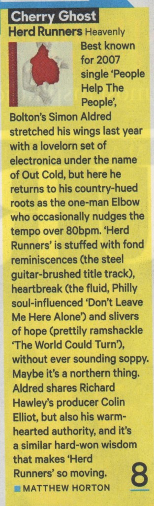 Cherry Ghost - NME - 07.05.14